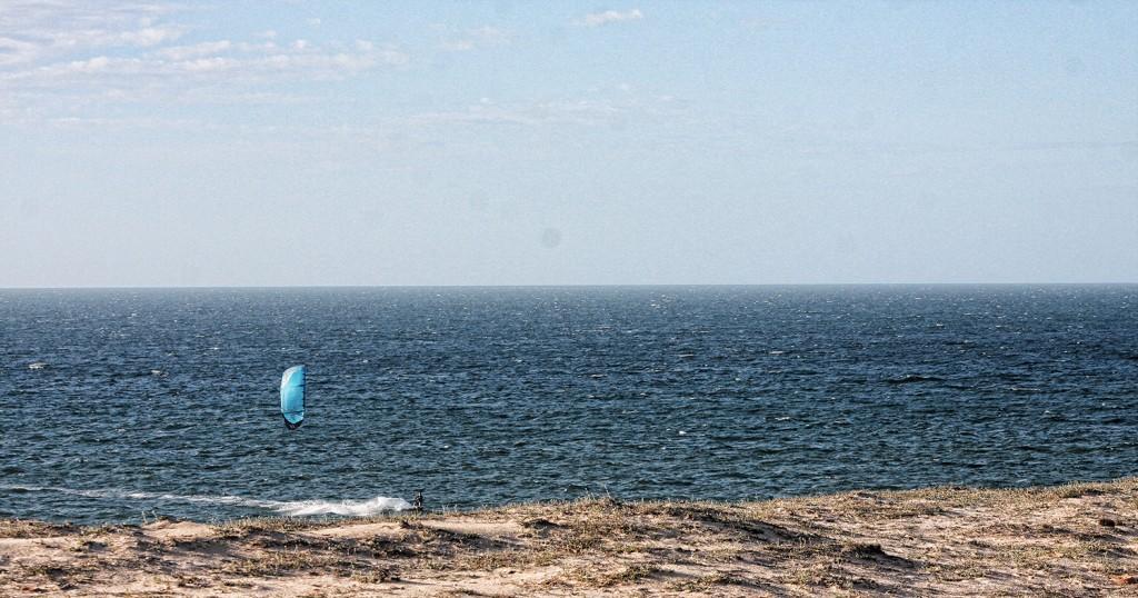 kitesurfing prea beach