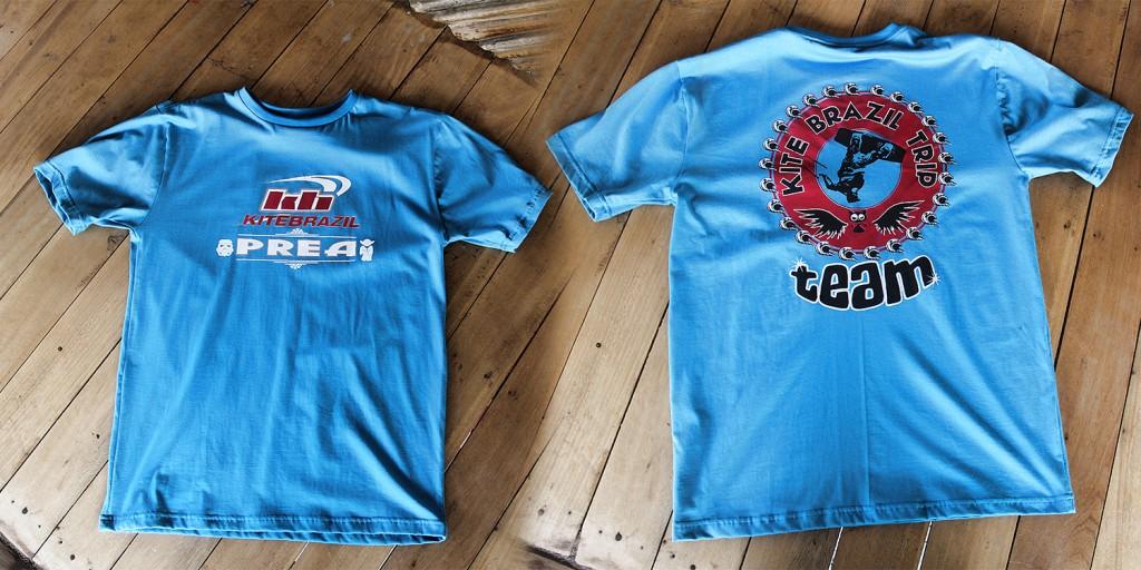 team shirt kite trip brazil
