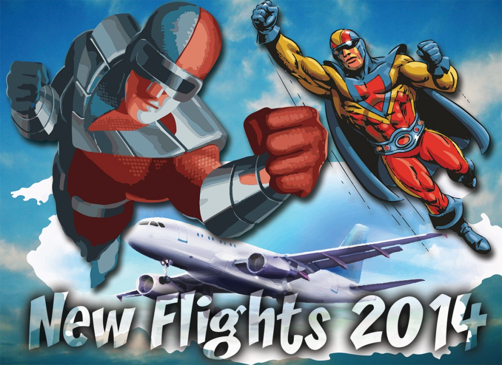 new flights 2014